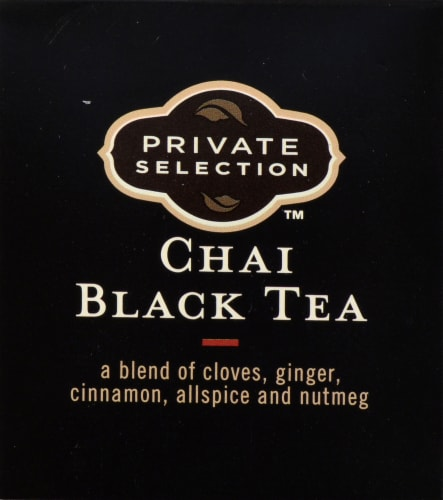 Private Selection™ Chai Black Tea Perspective: top