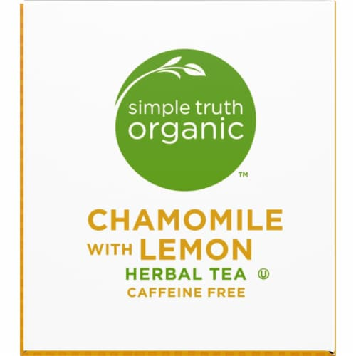 Simple Truth Organic™ Chamomile with Lemon Herbal Tea Bags Perspective: top