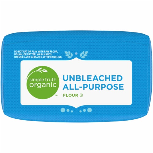 Simple Truth Organic™ Unbleached All-Purpose Flour Perspective: top