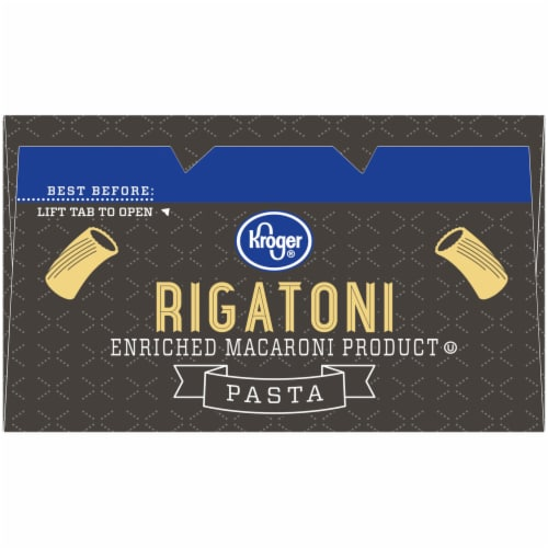 Kroger® Rigatoni Pasta Perspective: top