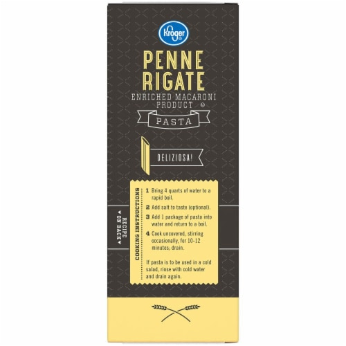Kroger® Penne Rigate Pasta Perspective: top