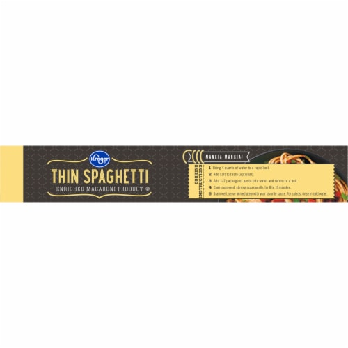 Kroger® Thin Spaghetti Perspective: top