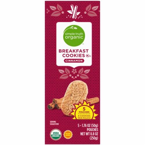 Simple Truth Organic™ Cinnamon Breakfast Cookies Perspective: top