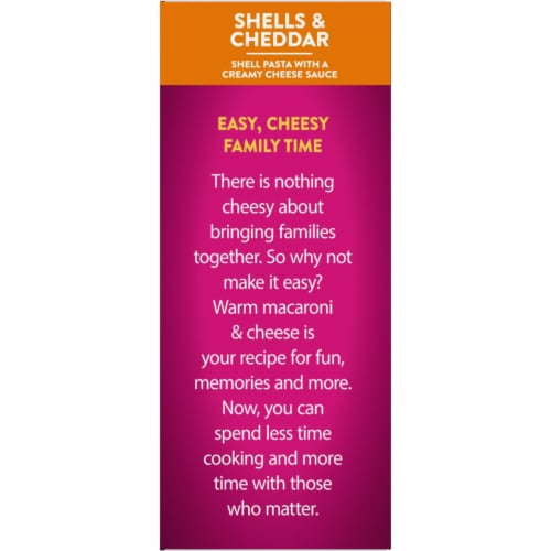 Kroger® Deluxe Shells & Cheddar Mac & Cheese Perspective: top