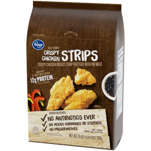 Kroger® Crispy Chicken Strips Perspective: top