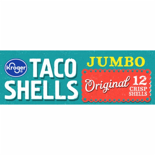Kroger® Jumbo Original Taco Shells Perspective: top
