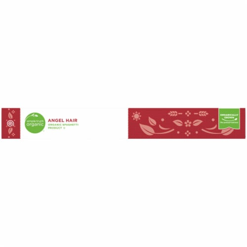 Simple Truth Organic™ Angel Hair Pasta Perspective: top