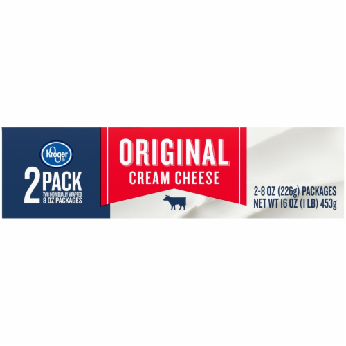 Kroger® Original Cream Cheese Perspective: top