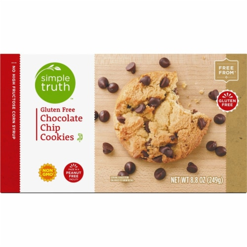 Simple Truth™ Gluten Free Chocolate Chip Cookies Perspective: top