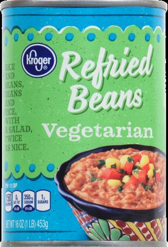 Kroger® Vegetarian Refried Beans Perspective: top