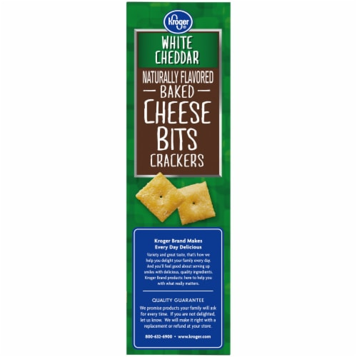 Kroger® So Cheesy! Big Baked Cheese Bits - White Cheddar Perspective: top