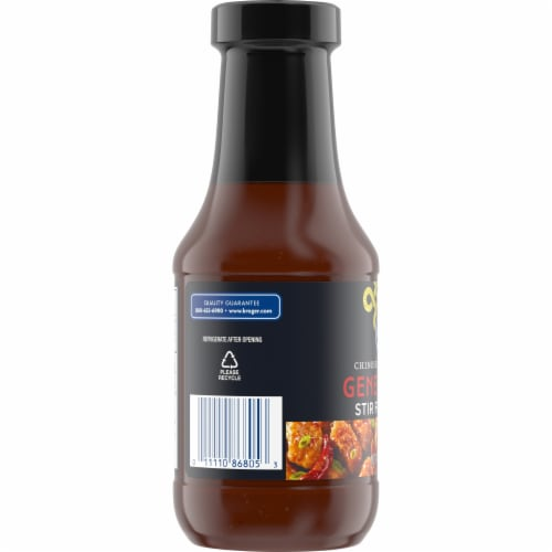 Kroger® General Tso Stir Fry Sauce Perspective: top
