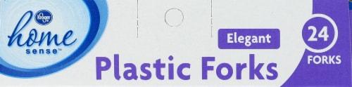 Kroger®  Elegant Plastic Forks Perspective: top