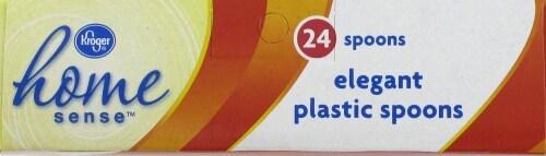 Kroger  Elegant Plastic Spoons Perspective: top