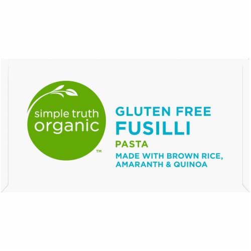 Simple Truth Organic™ Gluten Free Fusilli Pasta Perspective: top