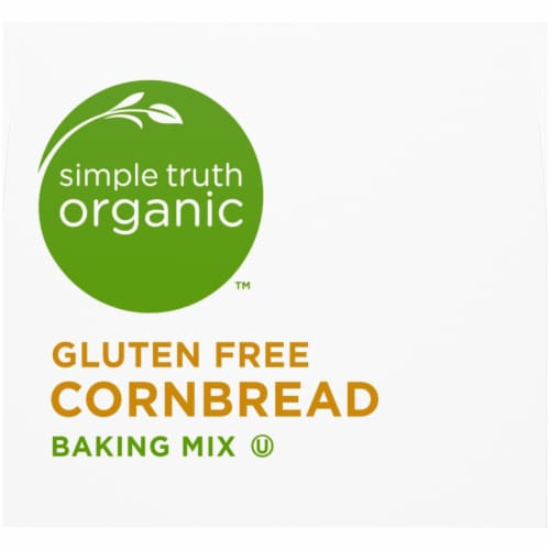 Simple Truth Organic™ Gluten Free Cornbread Baking Mix Perspective: top