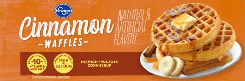 Kroger® Cinnamon Waffles Perspective: top