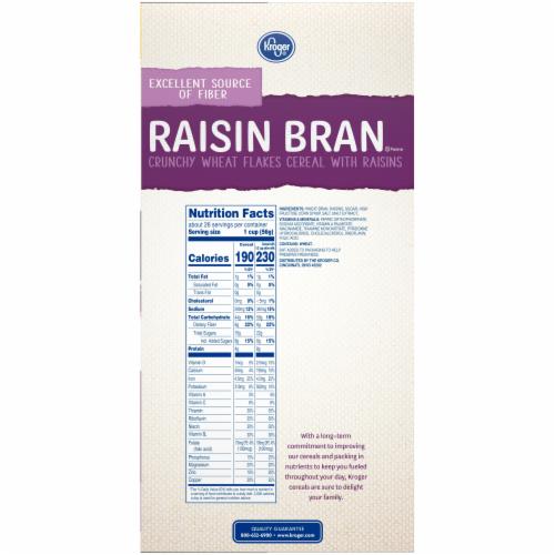 Kroger® Raisin Bran Crunchy Cereal Perspective: top