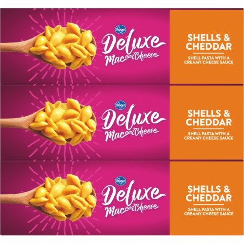 Kroger® Deluxe Shells & Cheddar Mac and Cheese Perspective: top