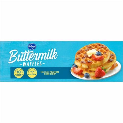 Kroger® Buttermilk Waffles Perspective: top