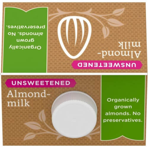 Simple Truth Organic™ Unsweetened Almondmilk Perspective: top