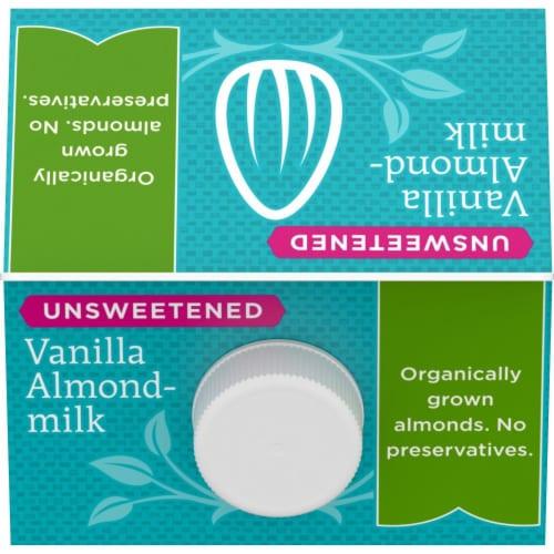 Simple Truth Organic™ Unsweetened Vanilla Almondmilk Perspective: top