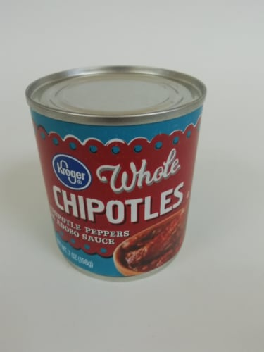 Kroger® Gluten Free Whole Chipotle Peppers in Adobo Sauce Perspective: top