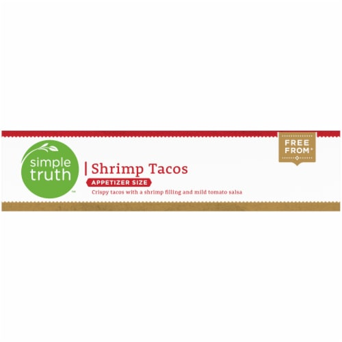 Simple Truth™ Appetizer Size Shrimp Tacos Perspective: top