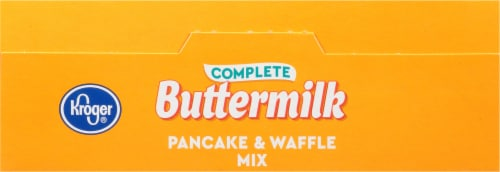Kroger® Complete Buttermilk Pancake & Waffle Mix Perspective: top