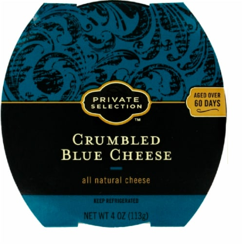 Private Selection™ Crumbled Blue Cheese Perspective: top