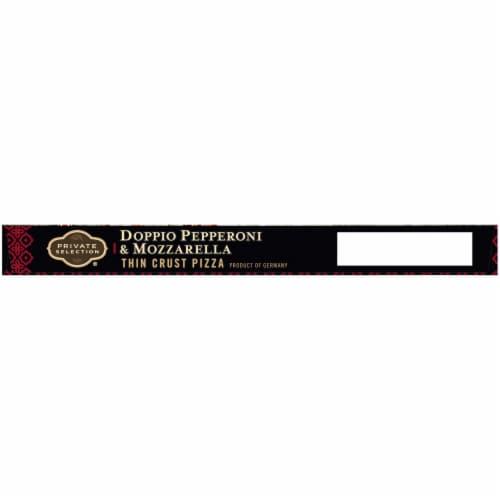 Private Selection® Doppio Pepperoni & Mozzarella Thin Crust Pizza Perspective: top