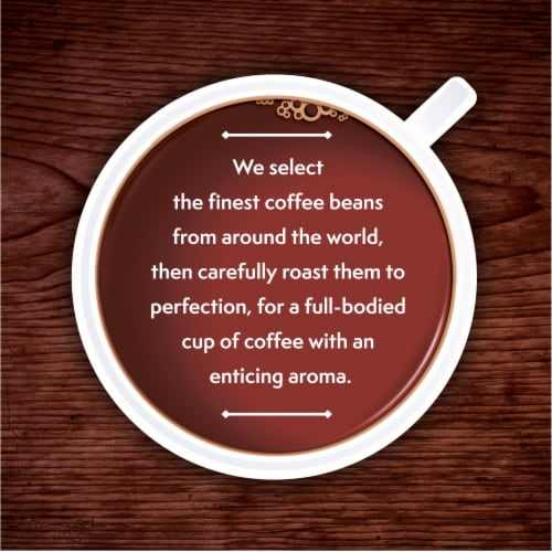 Kroger® Donut Shop Blend Medium Roast Coffee K-Cup Pods Perspective: top