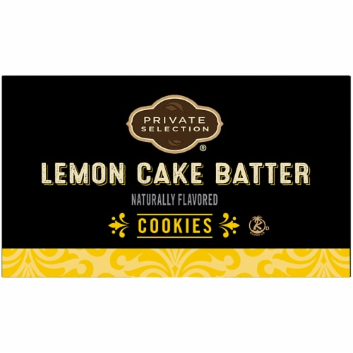 Private Selection® Lemon Cake Batter Cookies Perspective: top