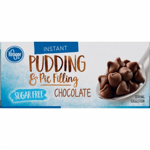 Kroger® Instant Sugar Free Chocolate Pudding & Pie Filling Perspective: top