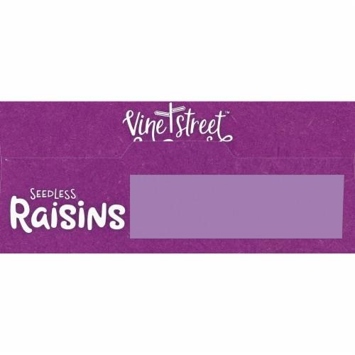Vine Street Seedless Raisins Perspective: top