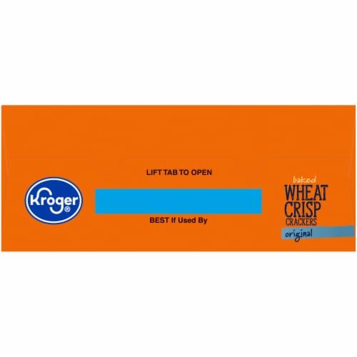 Kroger® Original Baked Wheat Crisp Crackers Perspective: top