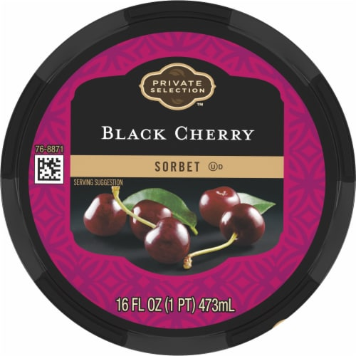 Private Selection™ Black Cherry Sorbet Perspective: top