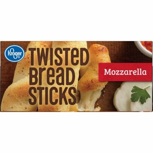 Kroger® Mozzarella Twisted Bread Sticks Perspective: top