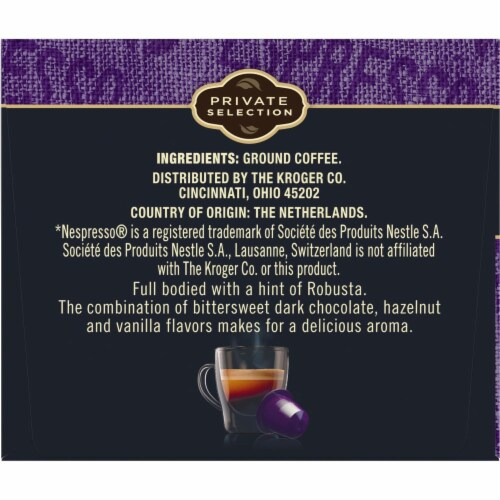 Private Selection™ Espresso Forte Capsules Perspective: top