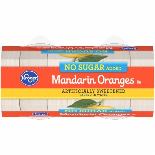Kroger® No Sugar Added Mandarin Oranges Bowls Perspective: top