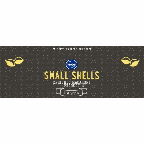 Kroger® Small Shell Macaroni Perspective: top