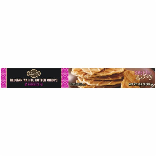 Private Selection® Belgian Waffle Butter Crisps Biscuits Perspective: top