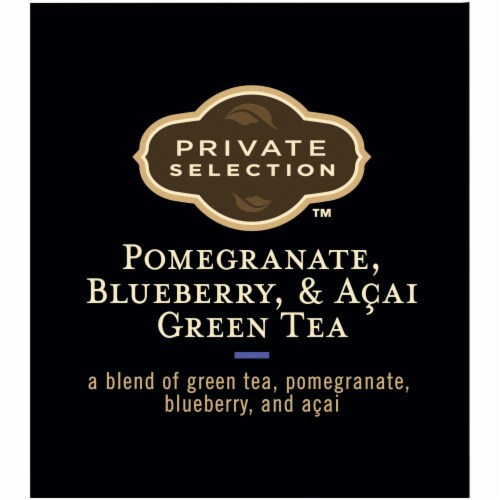 Private Selection™ Pomegranate Blueberry & Acai Green Tea Bags Perspective: top