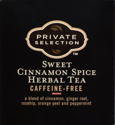 Private Selection™ Caffeine Free Sweet Cinnamon Spice Herbal Tea Bags Perspective: top