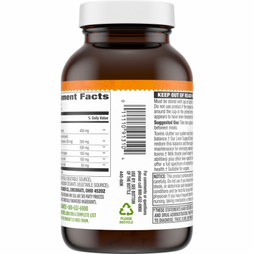 Simple Truth™ Plant Based Liver Support Complex Capsules Perspective: top