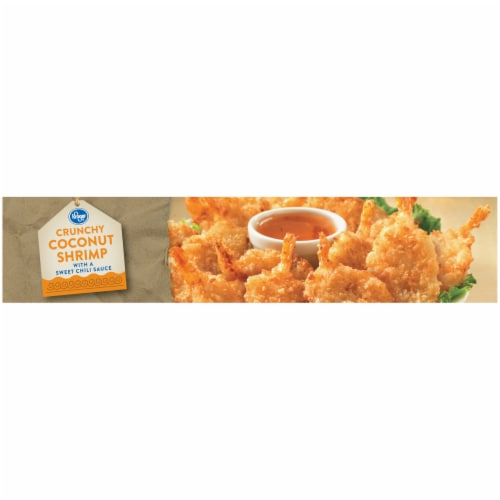 Kroger® Crunchy Coconut Shrimp with Sweet Chili Sauce Perspective: top