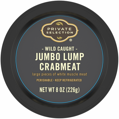 Private Selection® Wild Caught Jumbo Lump Crab Meat Perspective: top