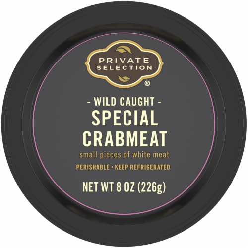 Private Selection® Wild Caught Special Crab Meat Perspective: top