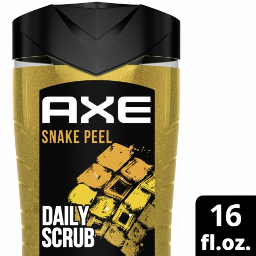 Axe Clean + Fresh Snake Peel 2 in 1 Exfoliating Body & Face Wash Perspective: top