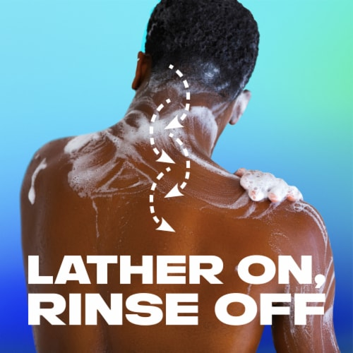 Axe Apollo Clean + Fresh Sage and Cedarwood Body Wash Perspective: top